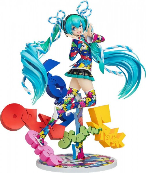 Character Vocal Series 01 : Miku Hatsune EXPO 5th Anniv. / Lucky Orb: UTA X KASOKU Ver 1/8 Scale PVC Statue