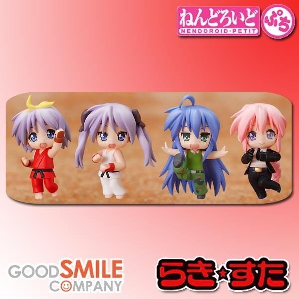 Lucky Star: Nendoroid Petite - Lucky Star x Street Fighter Set