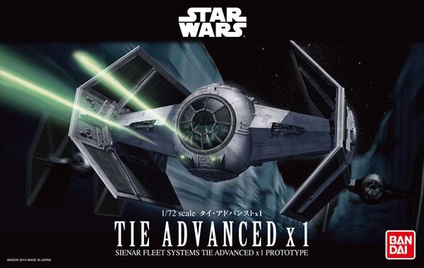 Star Wars: TIE Advanced x1 1/72 Model Kit