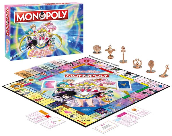 Sailor Moon: Monopoly Brettspiel *Deutsche Version*