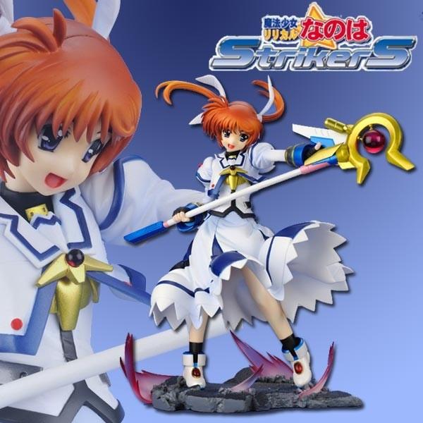 Magical Girl Lyrical Nanoha Strikers The Movie 1st: Nanoha Takamachi 1/7 PVC Statue