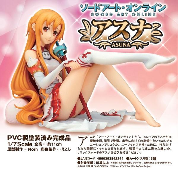 Sword Art Online: Asuna 1/7 Scale PVC Statue