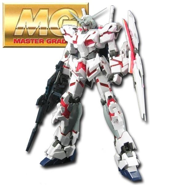 Gundam UC - MG Unicorn Gundam HD Color + MS Cage 1/100