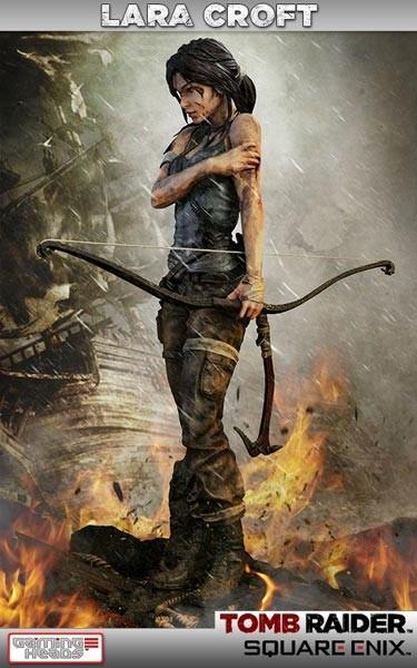 Tomb Raider 2013: Lara Croft Survivor 1/4 Scale Resin Statue
