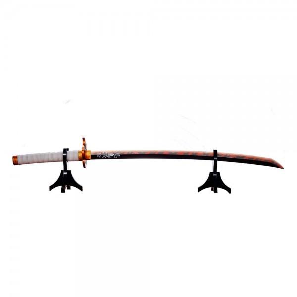 Demon Slayer Kimetsu no Yaiba : Nichirin Sword (Kyojuro Rengoku) Proplica 1/1 Replica