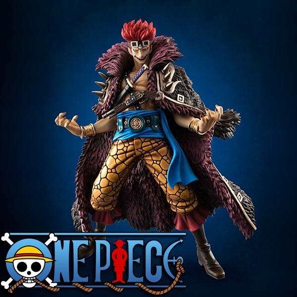 One Piece: P.O.P. Eustass Captain Kid 1/8 Scale PVC Statue