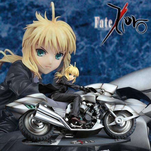 Fate/Zero: Saber & Saber Motored Cuirassier 1/8 Scale PVC Statue