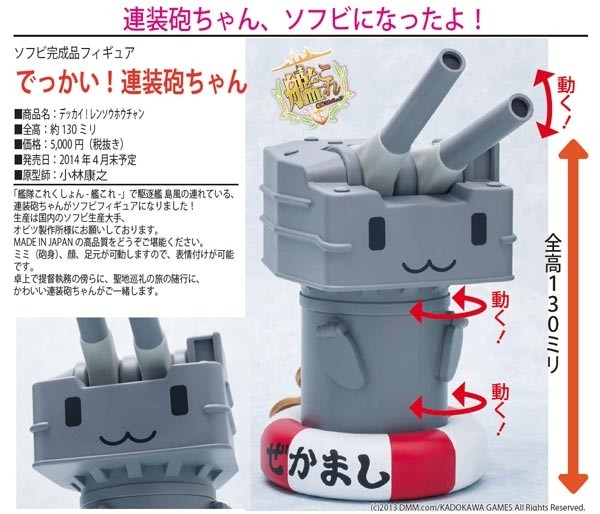 Kantai Collection: Big Rensouho-chan non scale PVC Statue