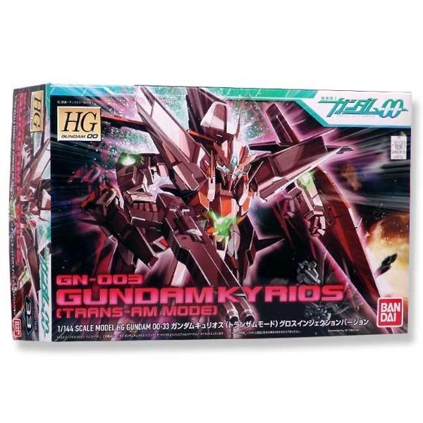 Gundam 00 - HG Gundam Kyrios Trans-Am Mode 1/144