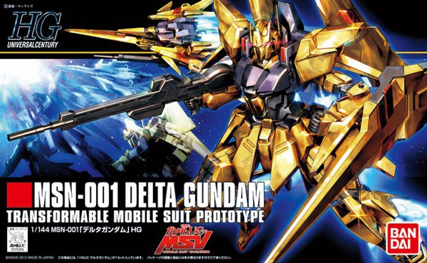 Gundam UC - HGUC MSN-001 Delta Gundam 1/144