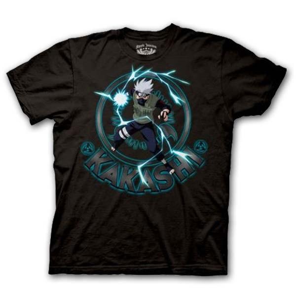 Naruto Shippuden: T-Shirt Kakashi Chidori Strike