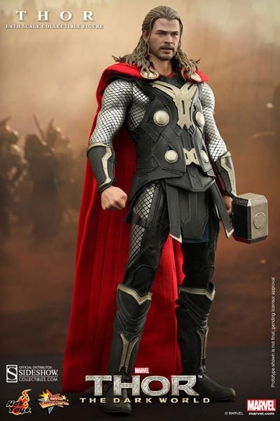 Thor The Dark Kingdom: Thor Movie Masterpiece 1/6 Actionfigure
