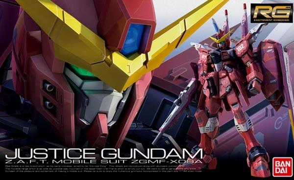 Gundam - RG ZGMF-X09A Justice Gundam 1/144
