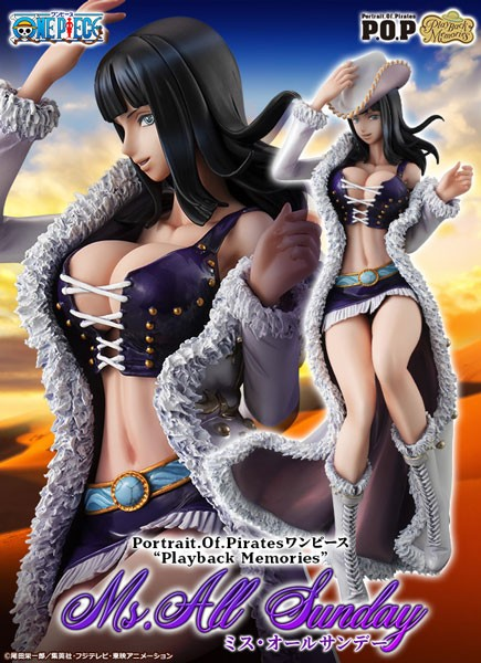 One Piece: P.O.P. Nico Robin Miss All Sunday 1/8 Scale PVC Statue