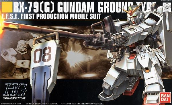 HGUC RX-79(G) Gundam Ground Type 1/144