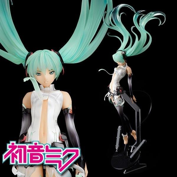 Vocaloid 2: Miku Hatsune Append 1/9 Scale PVC Statue