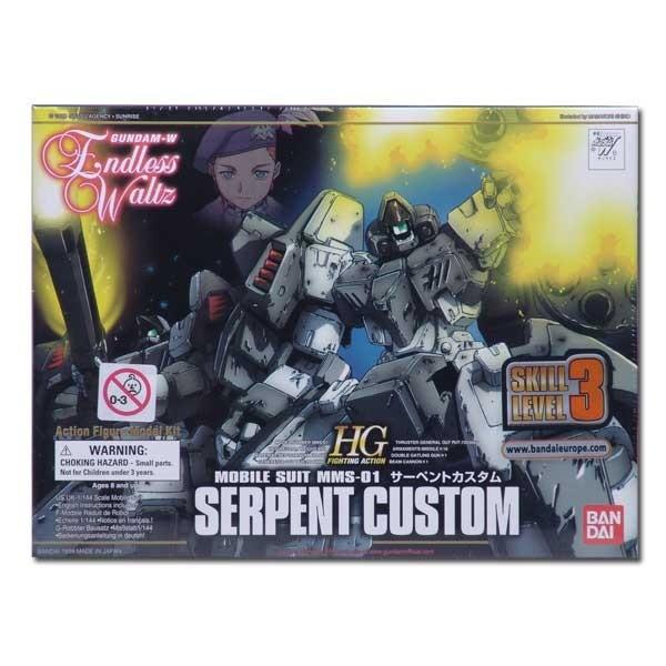 Gundam Seed - Endless Waltz Serpent Custom