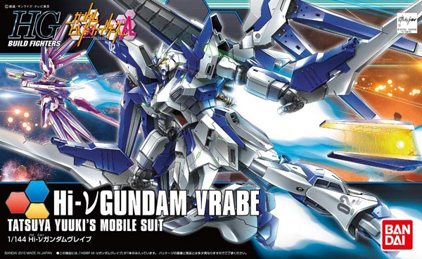 Gundam Built Fighter - HGBF Hi-Nu Gundam Vrabe 1/144