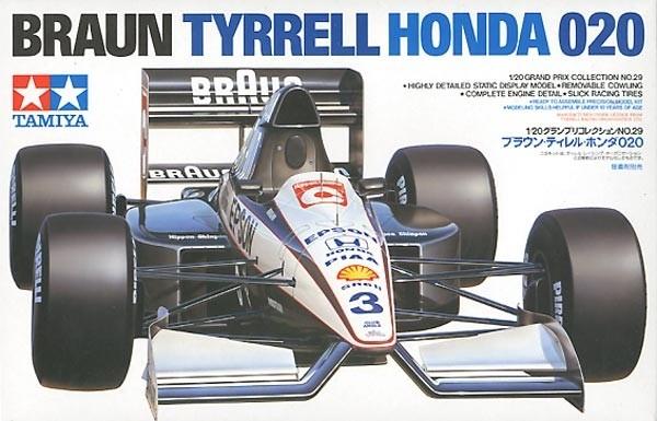 Braun Tyrrell Honda 020 1/20 Model Kit