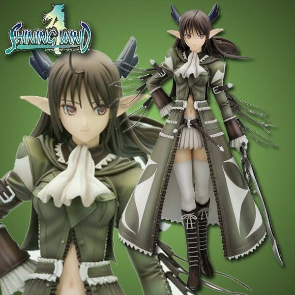 Shining Wind: Xecty Military Uniform Ver. 1/8 Scale PVC Statue