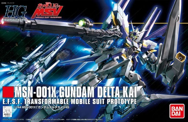 Gundam UC - HGUC Gundam Delta Kai 1/144
