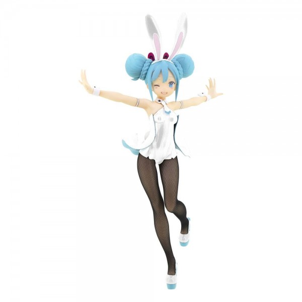 Vocaloid 2: BiCute Bunnies Miku Hatsune White Ver. non Scale PVC Statue