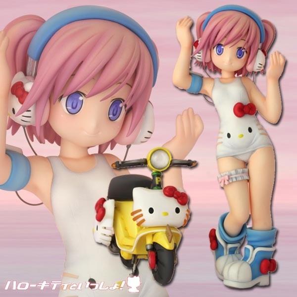 Together with Hello Kitty!: Shizuku Minase non scale PVC Statue