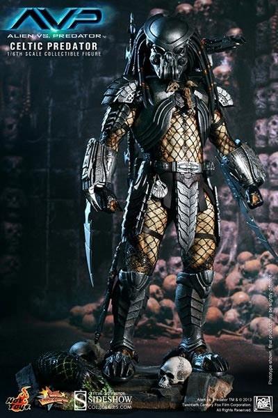 Alien vs. Predator: Celtic Predator Movie Masterpiece 1/6 Actionfigure