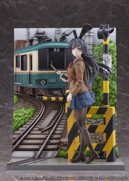 Rascal Does Not Dream of Bunny Girl Senpai: Mai Sakurajima Enoden Ver. 1/7 Scale PVC Statue