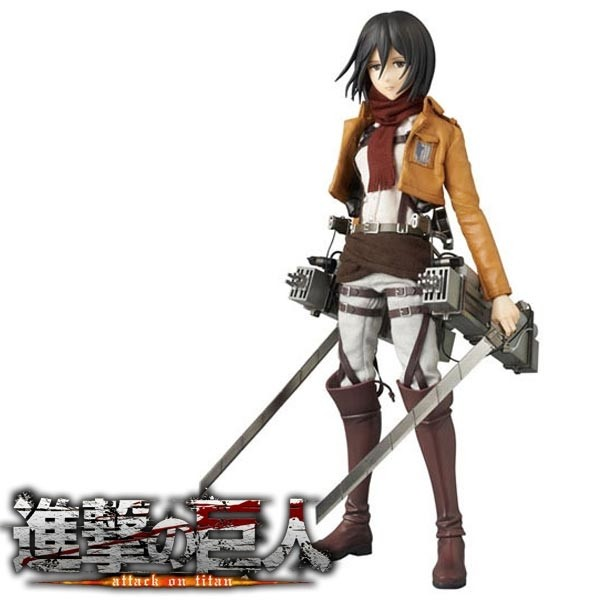 Shingeki no Kyojin - Real Action Heroes Mikasa Ackerman