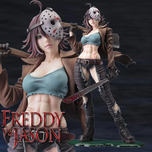 Freddy vs. Jason: Jason Voorhees 1/7 Scale PVC Statue