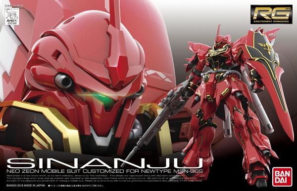 Gundam UC - RG MSN-06S Sinanju 1/144