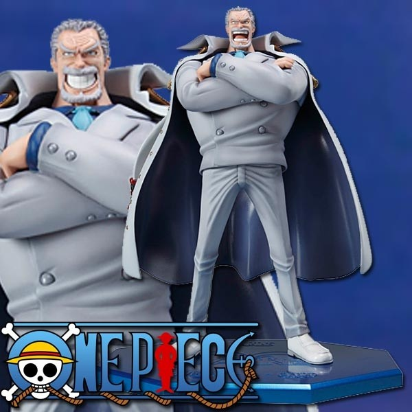 One Piece: P.O.P. Monkey D Garp 1/8 Scale PVC Statue