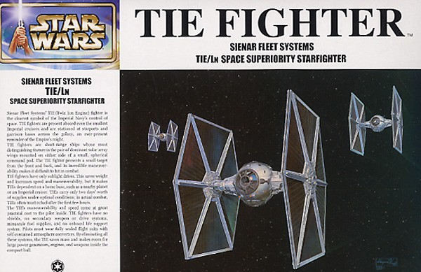 Star Wars: Tie Fighter 1/72 Model Kit