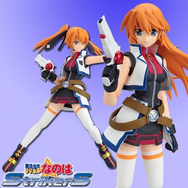 Magical Lilical Nanoha StrikerS: Teana Lanster Barrier Jacket Ver. - Figma
