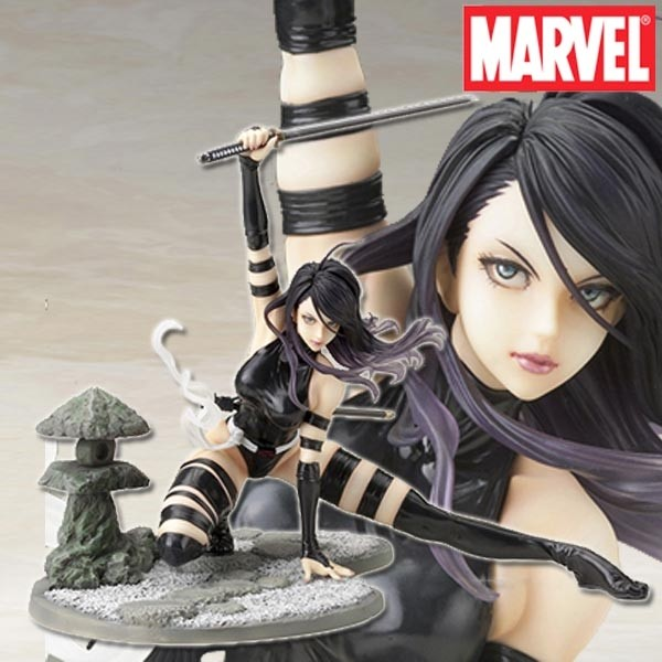 Marvel: Bishoujo Psylocke X-Force Ninja Outfit 1/7 Scale PVC Statue