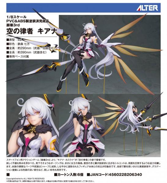 Houkai Impact 3rd: Kiana 1/8 PVC Statue