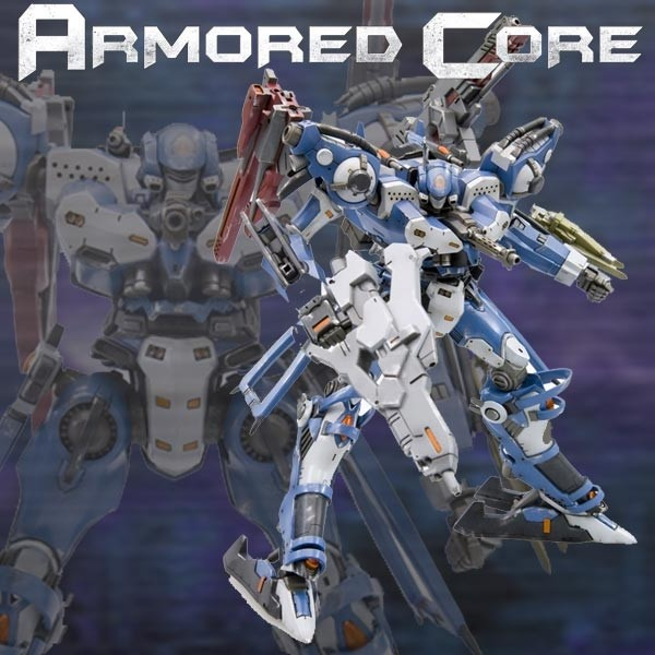 Armored Core - Crest CR-C89E Oracle 1/72 Model-Kit