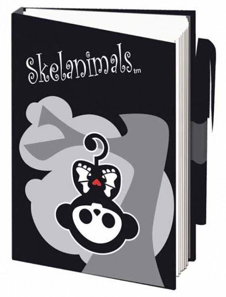 Skelanimals Notebook 7,4 cm x 10,5 cm