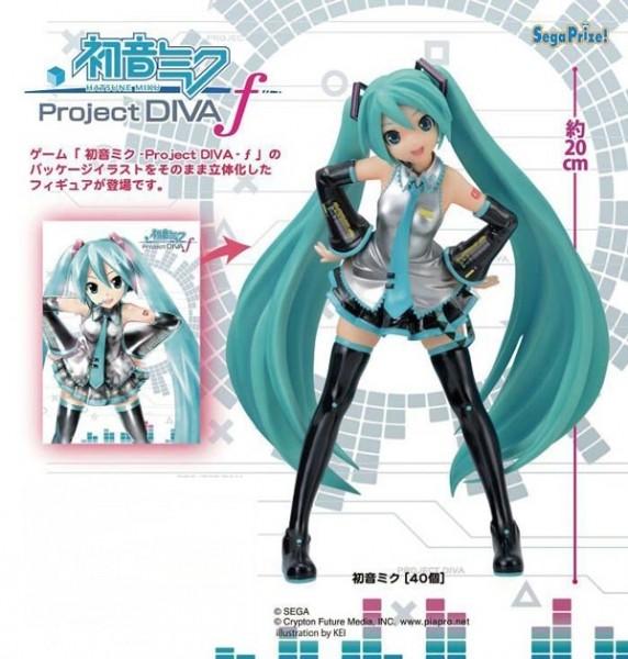 Vocaloid 2: CHARACTER VOCAL SERIES 01- Miku Hatsune Project Diva f PM Figure
