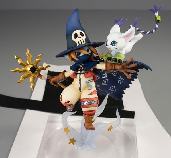 Digimon Adventure: Wizardmon & Gatomon non Scale Scale PVC Statue