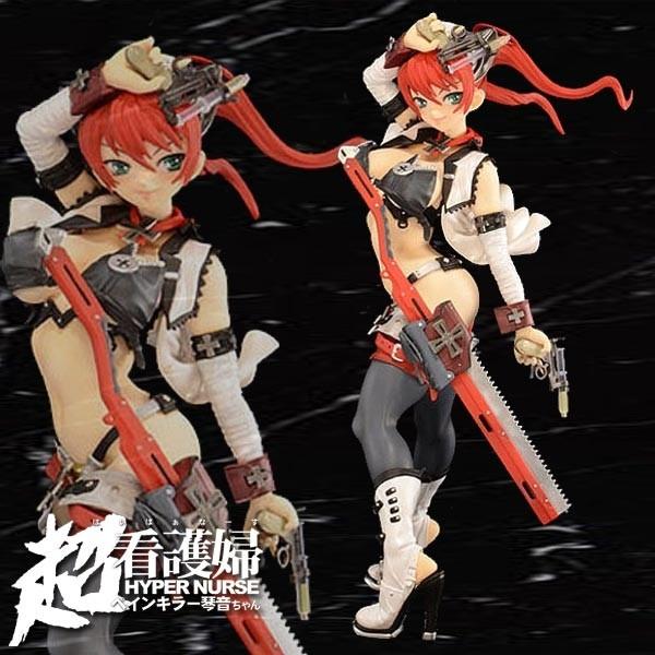 Hyper Nurse: Hyper Nurse Milky Way Erikachan Ver. Red 1/6 Scale PVC Statue