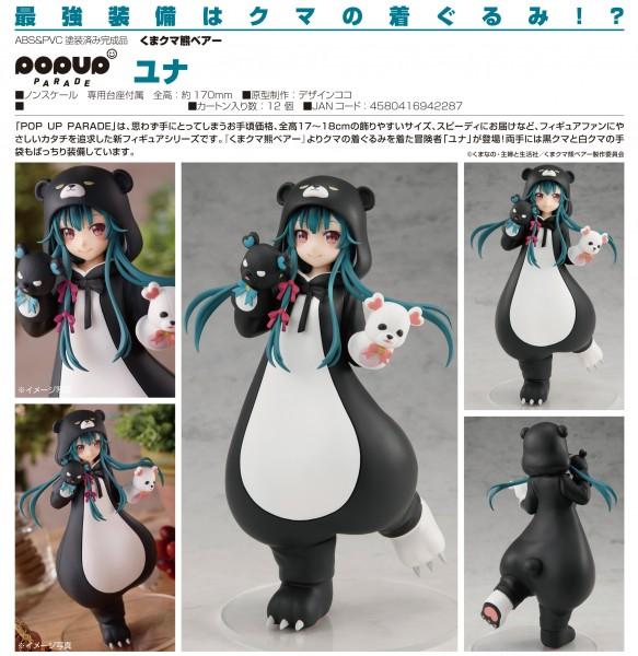 Kuma Kuma Kuma Bear: Pop up Parade Yuna non Scale PVC Statue