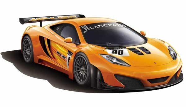 McLaren MP4-12C GT3 1/24 Model Kit