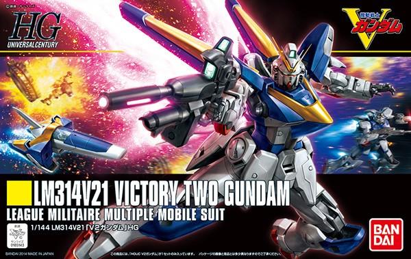 V Gundam - HGUC V2 Victory Two Gundam 1/144