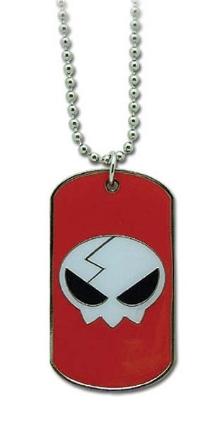 Necklace Skull Icon Dog Tag