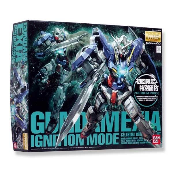 Gundam 00 - MG Gundam Exia Ignition Mode 1/100