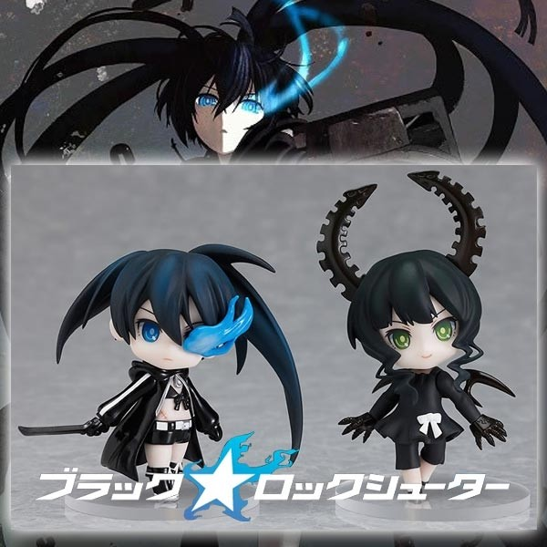 Black Rock Shooter - Blu-Ray & DVD Set (Limited First Edition)