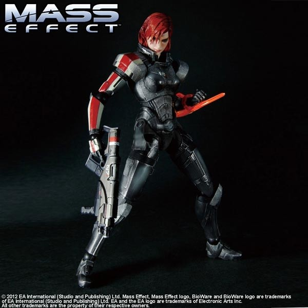 Mass Effect 3: Play Arts Kai Female Commander Shepard Action Figure