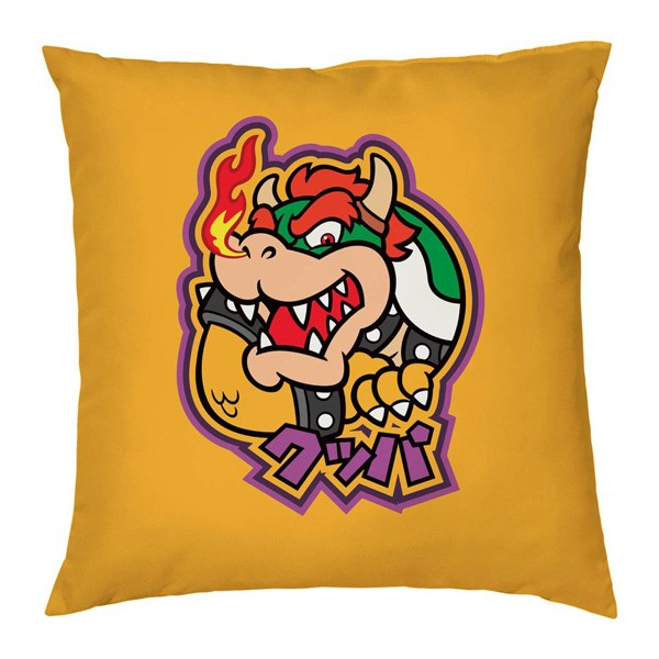 Nintendo Kissen Bowser Kanji